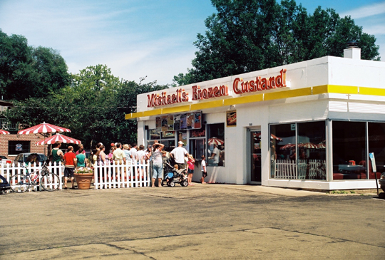 Madison real estate includes Michaels Frozen Custard