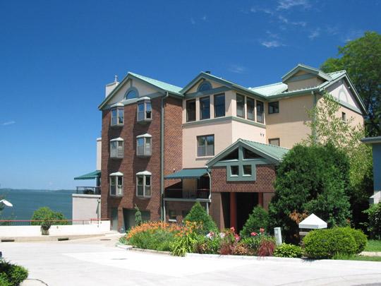 Pinckney Place sits right on Lake Mendota