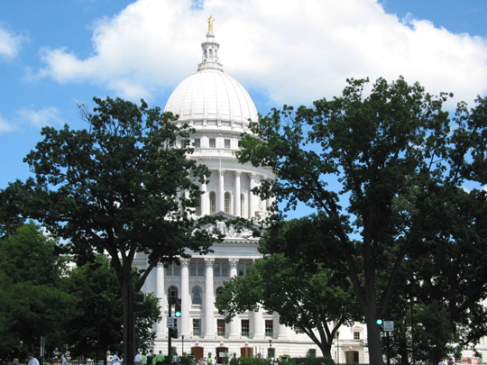 Picture of Madison Capitol Building