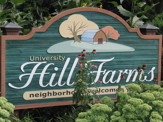 Hill Farms Sign