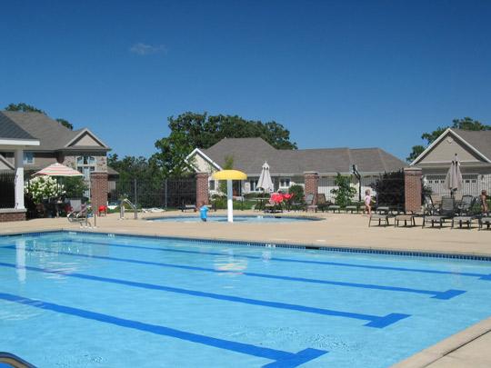 Neighborhood pool complements Waunakee Subdivision