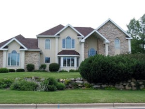 up-scale home in Fitchburg WI