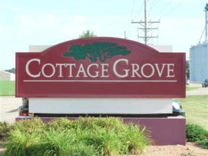 Cottage Grove city sign