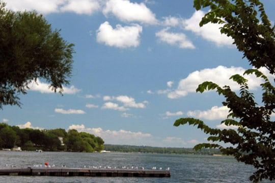 Dock on Madison Lake 540