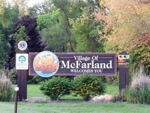 McFarland City Sign
