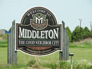 Middleton City Sign