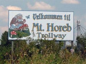Mount Horeb City Sign