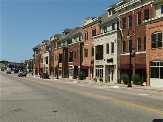 Prairie du Sac main street
