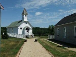 Sauk City Church on the River