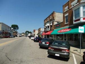 Sauk City Main Street