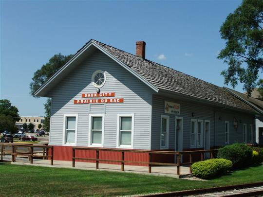 Sauk City Old Train Station