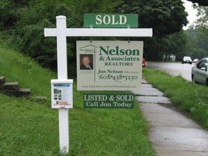 Nelson & Associates yard sign