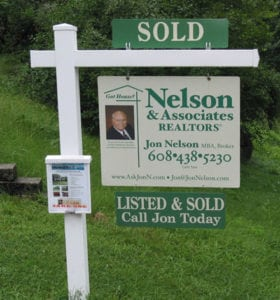Nelson & Assoc yard sign