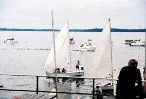 Sailboat on Lake Mendota